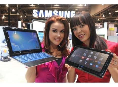 Sliding Keyboard Tablets