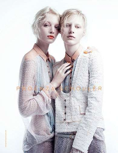 The Proenza Schouler 2011 Campaign Showcases Pallid Models