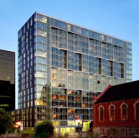 Classy Glassy Buildings