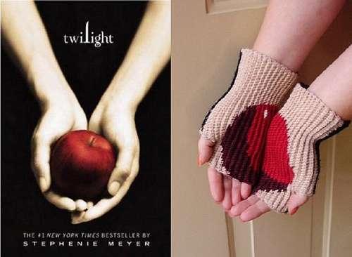 Vampire Romance Gloves Crochet Pattern Apple Palms