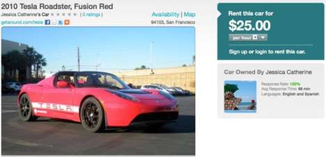 Personal Car Rental Apps - The Getaround App Lets You Rent Out Your Unused Cars