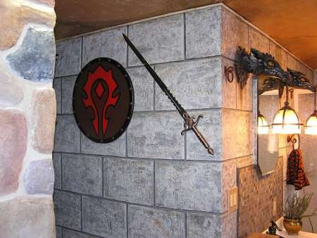 A Gaming Couple Designs a World of Warcraft Bathroom