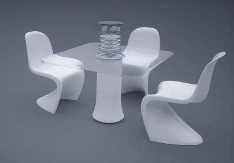 Dishware-Cleansing Furniture