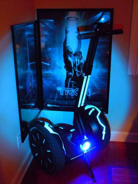 Nerdy 3D Movie Scooters - Pick Up Your Date on the Tron Segway I2