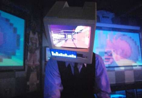Recycled Computer Costumes