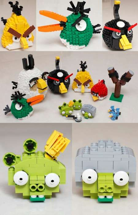 Check Out Tsang Yiu Keung's Angry Birds LEGOs