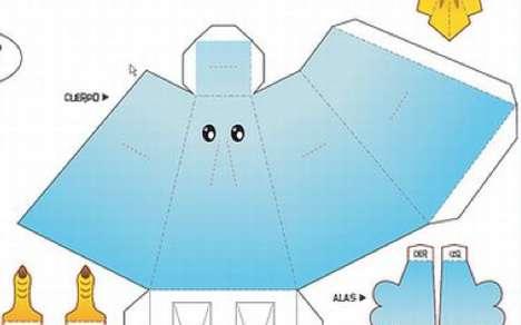 Tweeting Avian Origami