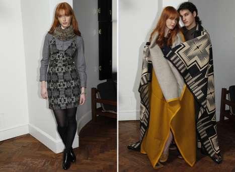 Poncho-Inspired Fashion