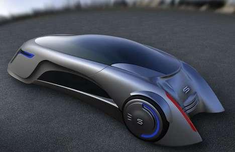 Futuristic Supersonic Vehicles