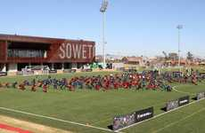 Sustainable Soccer Centres - The Soweta Football Training Centre Kicks Going Green Into High Gear