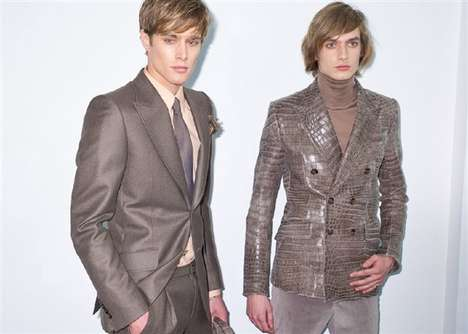 Modern Metallic Menswear