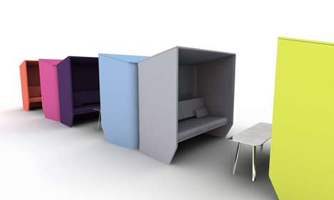 Colorful Eco Cubicles