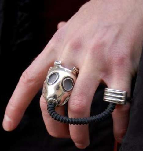 Gas Mask Rings