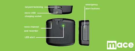 Emergency Locator Devices - The Mace Buddi Gadget Keeps People Safe and Sound