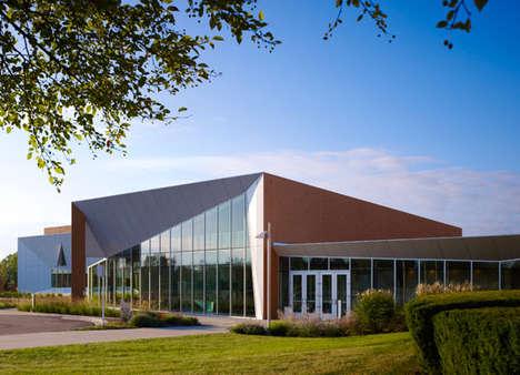 Sleek Eco-Friendly Schools