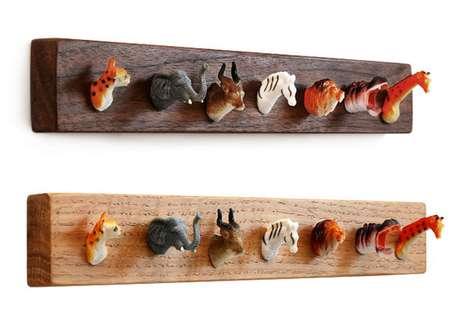 Animal Head Hooks