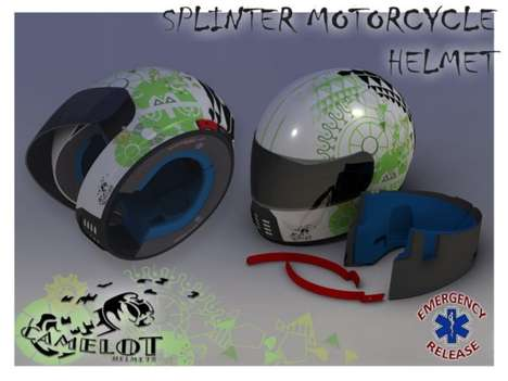 Breakaway Biker Helmets