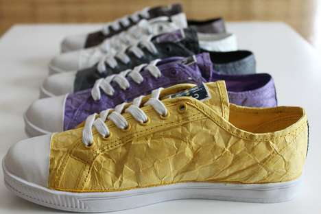 These Civic Duty Shoes Were Created From Fedex Envelopes