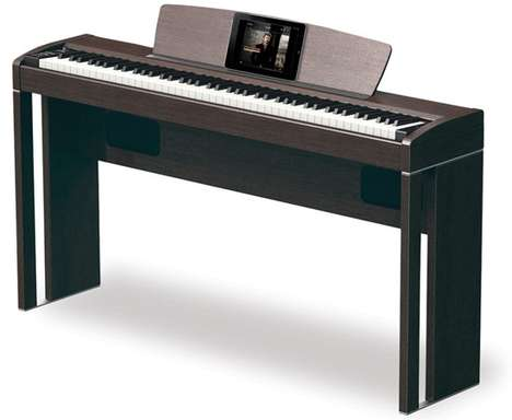 High-Tech Digital Pianos