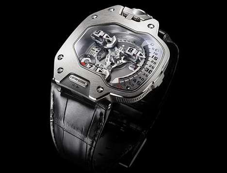 Metallic Torpedo Watches