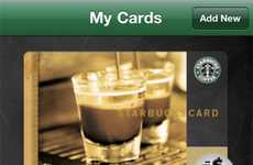 Cellular Coffee Payments - Starbucks Card Mobile App Lets You Pay With Your Phone