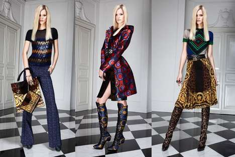 Eccentrically Patterned Fashion