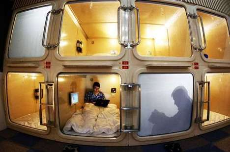 Mini Budget Lodgings - China's Capsule Hotel Targets Single Business Travelers