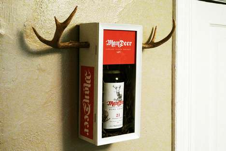 Evan Stremke Gives Mandeer Whiskey Some Antlers