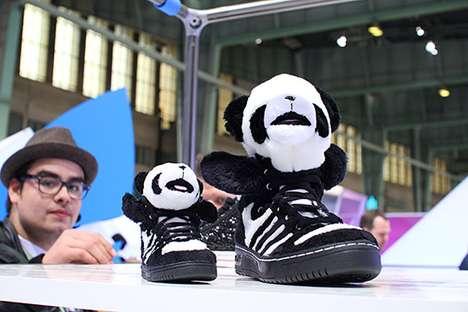 Black and White Bear Kicks