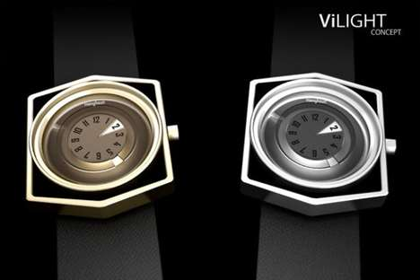 Sundial-Inspired Time Trackers
