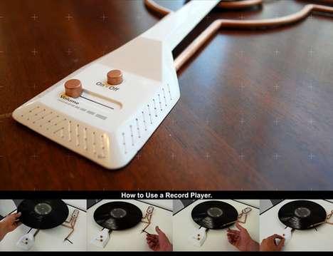 Skeletal Vinyl Players
