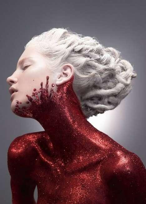 Glamorously Glittered Bodies