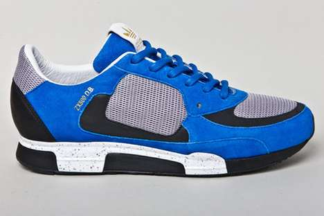 Sporty Blue Suede Kicks