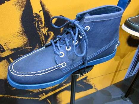 Azure Boat Shoes