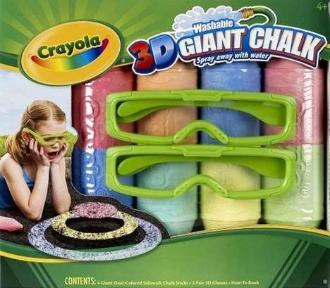 Illusory Sidewalk Toys
