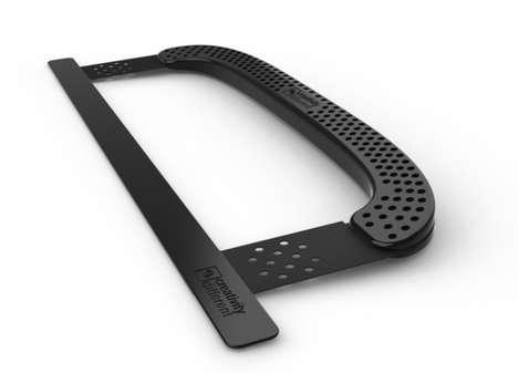 Hacksaw Laptop Grips