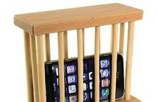 Mobile Prisons - The Cell Phone Lock Up Has You Begging for Your iPhone's Release