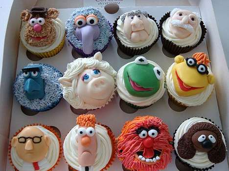 Cupcake Occasions Serves up Tasty Jim Henson Character Desserts