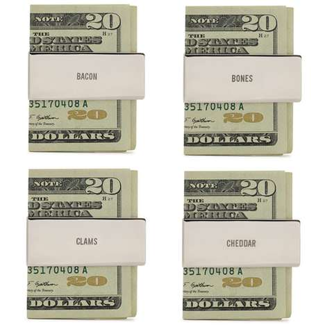 Colloquialism-Covered Cash Holders