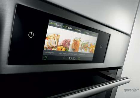 Touch Screen Cooktops - The iChef Kitchen Lets You Preprogram Meals