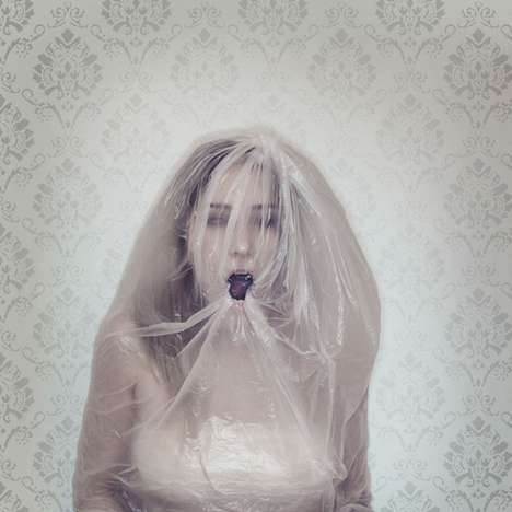 Suffocating Photography - Mariell Amelie Self-Portraits Are Morbid, Introspective and Beautiful