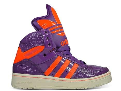 Vibrant Violet Footwear