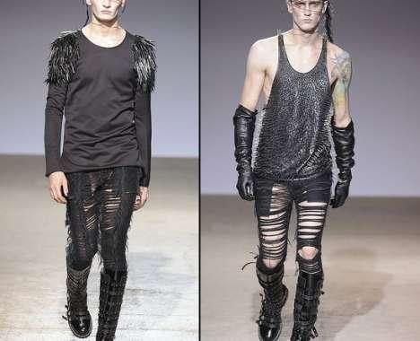25 Examples of Fierce Shredded Fashion