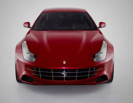 The Speedy 2012 Ferrari FF Concept Car Fits Four