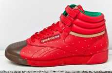 Chocolate-Covered Sneakers - The Reebok San Valentin Shoes Mimic a Delectable Strawberry Treat
