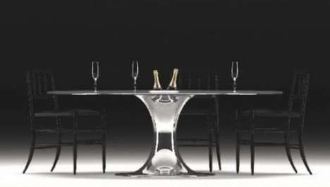 Bubbly-Toting Tables