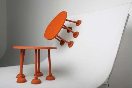 Suctioning Side Tables