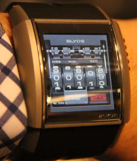 Sleek Luxurious MP3 Timepieces