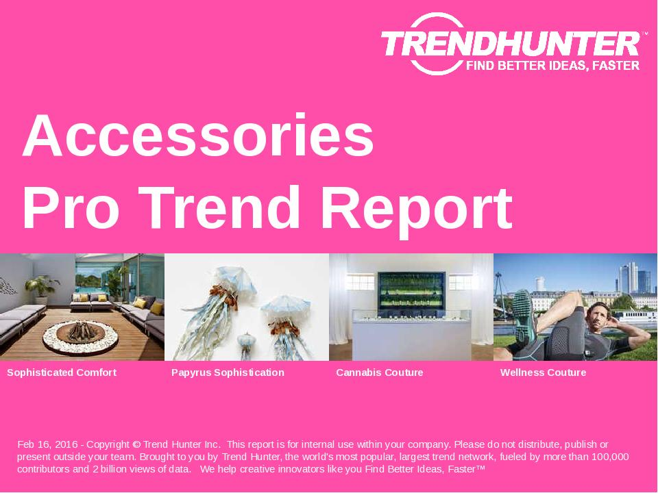 Accessories Trend Report Research