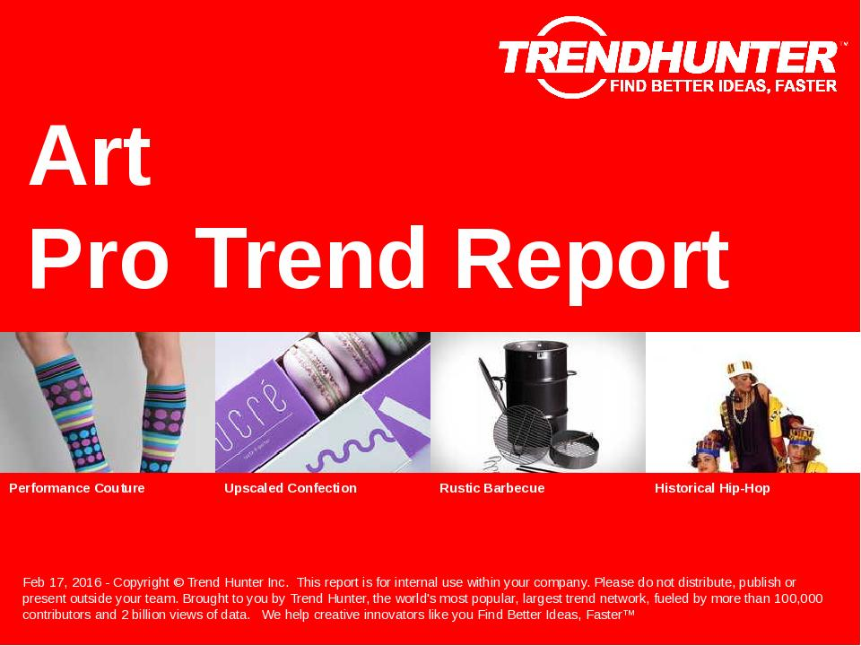 Art Trend Report Research